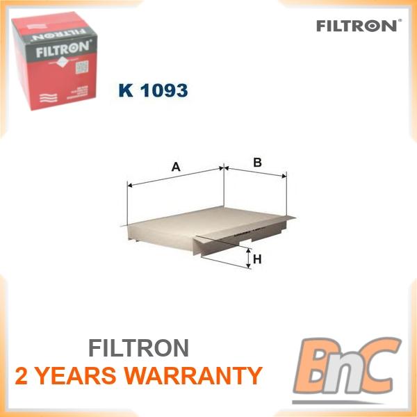 Original Filtron interior filtro Filtro Filtro de polen Peugeot Citroën DS