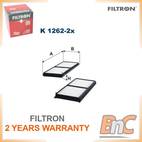 Filtre intérieur Filtron k1262-2x