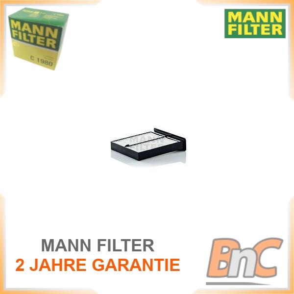 MANN-FILTER CU21004 Innenraumfilter für SUZUKI